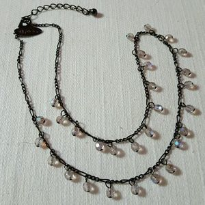 ❤3 for $15! NY & CO crystal bead necklace